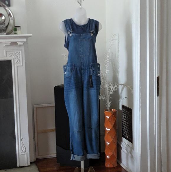 Dollhouse Denim - Dollhouse  Blue Jeans Overalls
